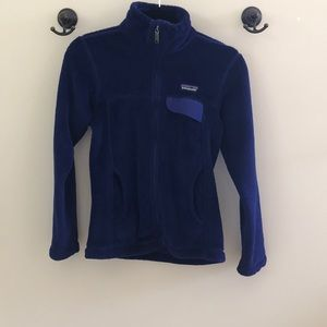 Patagonia W Full-Zip Re-Tool Blue Jacket